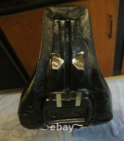 1976 to 1981 HARLEY DAVIDSON OEM SHOVELHEAD FLH SEAT AND BACKREST BACK REST