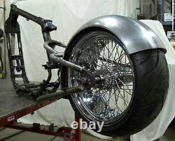 1991-up Harley XL Sportster 5 Stretch 3 Drop Seat 250 Tire Hardtail Kit