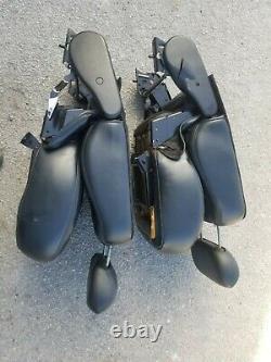 1997-2003 Ford F-150 F150 Crew Cab Harley Davidson Black Rear Bucket Seat Set