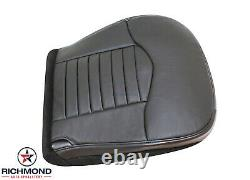 2000 Ford F150 Harley-Davidson Super-Charged -Driver Bottom Leather Seat Cover