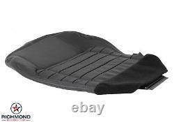 2001 Ford F-150 Harley-Davidson F150-Driver Side Bottom Leather Seat Cover Black