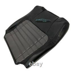 2002 Ford F-150 Harley-Davidson Driver Lean Back Leather/Vinyl perf Seat Cover