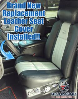2003 F150 Harley-Davidson Super-Charged -Driver Side Bottom Leather Seat Cover