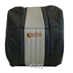 2003 Ford F150 Harley Davidson Driver Lean Back Seat Cover 2 tone Black/Gray