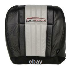 2003 Ford F150 Harley-Davidson Passenger Bottom Leather/Vinyl Seat Cover 2 Tone