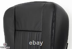 2004 Ford F250 F350 Harley-Davidson -Driver Side Bottom Leather Seat Cover Black