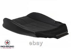 2005 Ford F250 F350 Harley-Davidson -Driver Side Bottom Leather Seat Cover Black