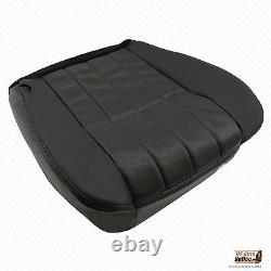 2005 Ford F-250 F-350 Harley Davidson Driver Bottom Leather Seat Cover Black
