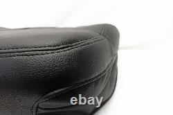 2006 2007 Ford F150 Harley Davidson 4WD Driver Bottom Leather Seat Cover BLACK