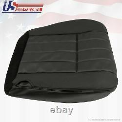 2006 Ford F250 Harley-Davidson Driver Bottom Perforated Leather Seat Cover BLACK