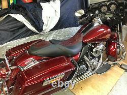 2008-10 Harley Davidson Street Glide 2010 Road Glide SEAT COVER custom colors