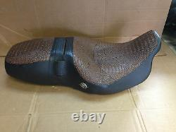 2008-13 Harley Road King Classic replacement Seat Cover MADE IN USA