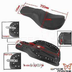 2-up Seat Cover For Harley Touring Electra Glide Paul Yaffe Stretched Gas Tank