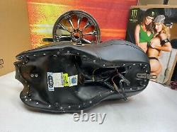 97-07 Harley Corbin Dual Touring Heated Seat & Riders Backrest