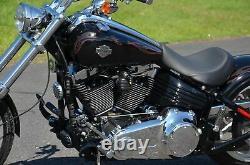 Black Solo Danny Gray Weekday Solo Seat Saddle Harley Softail Rocker C Custom