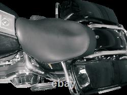 Danny Gray Black Leather Buttcrack Solo Seat for 97-08 Harley Touring FLHR