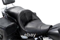 Danny Gray TourIST 2-Up Air Seat Vinyl Black Harley Davidson FatBoy/Softail