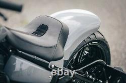 Drag Seat Bobber Short Rear Fender Harley Davidson Softail 08-17 Breakout, Rocker