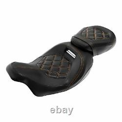 Driver Passenger Seat &Pad Fit For Harley CVO Touring Electra Street Glide 09-21