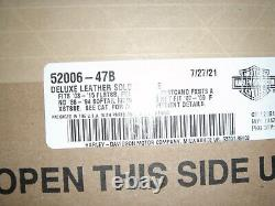 Harley Davidson Softail Shovelhead Panhead Solo Seat Leather 52006-47B OEM NOS