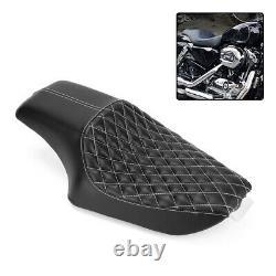 Harley Davidson Sportster Iron 883 XR1200X Genuine Leather Seat Cushion Black UK