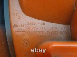 Harley Davidson Sportster REAR FENDER COVER 08-10 XR1200 11-13 XLR1200X ORANGE