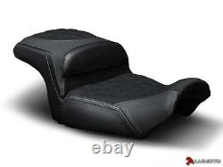 Harley Davidson Vrod Muscle Seat Covers 2009-2016 2017 Front Rear Black Luimoto