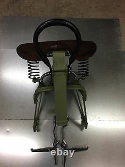 Harley Davidson Wlc Canadian Military Tandem Passenger Seat Flathead 45 Wla