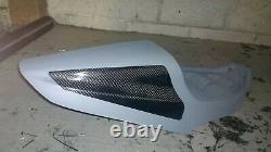 Harley Davidson XR1200 paintable Carbon Solo seat and tank cover package