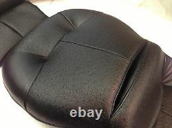 Harley Touring 97 07 Seat Cover KIT /Comfort Stitch with OSTRICH & 1/2 top foam