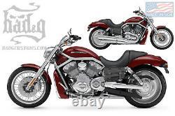 Harley V ROD Throw Under Seat Bags Saddlebags V-Rod VROD VTU01 BAD&G CustomS