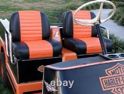 Harley davidson golf cart seat
