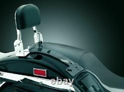 Kuryakyn Chrome Under Seat Sissy Bar Mount Plug N Play Harley Dyna Sportster FX
