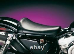 LePera Bare Bones Driver Solo Sportster Ironhead Seat Black 1982-03 Harley XLX