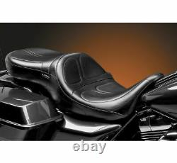 LePera Maverick Two-Up One Piece Motorcycle Seat Harley Touring Bagger 2008-2020