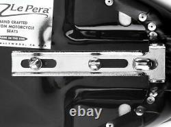 LePera Signature II 2 Piece Seat with Pillion Harley Rigid Hardtail Chopper Bobber