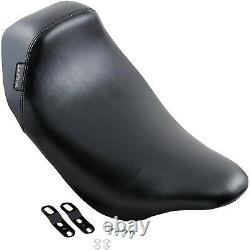 Le Pera LK-005 Bare Bones Smooth Low Profile Solo Seat Harley FL Touring 08-Up
