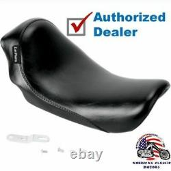 Le Pera Lepera Silhouette Low Profile Single Driver Solo Seat Harley Dyna 06-17