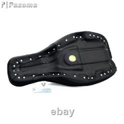 Low Profile 2-Up Seat Paul Yaffe Stretched Tank For Harley Road King FLHR 08-17
