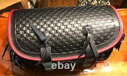 NEW! Harley FLSTS Heritage Springer RED TRIM 2up Bag 98851-97