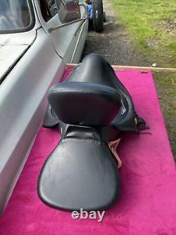 OEM HARLEY HERITAGE SPRINGER FLSTS 2UP BACKREST SEAT 52417-99 W Backrest