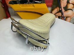 OEM Harley Buddy Seat Knucklehead Panhead Flathead Shovelhead Grab Hand Rail
