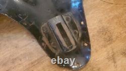 ORIGINAL HARLEY SOLO SEAT PAN knucklehead panhead wl flathead vintage oem 45 flh