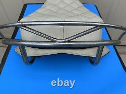 Original Harley Buddy Seat Knucklehead Panhead Flathead Shovelhead WHITE