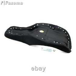 Paul Yaffe Stretched Tank 2-Up Seat For 97-07 Harley Road Glide FLTR 08-09 Black