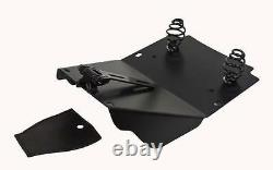 Road King Harley Spring Solo Mounting Kit Seat Rich Phillips Leather 1998 2017