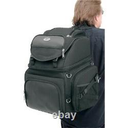 Saddlemen BR3400 Back Seat or Sissy Bar Bag Travel Luggage Harley / Metric