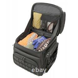 Saddlemen BR3400 Tactical Back Seat or Sissy Bar Bag Travel Luggage Harley