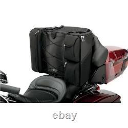 Saddlemen BR4100 Dresser Back Seat Rigid Bag Luggage for Harley Touring Models
