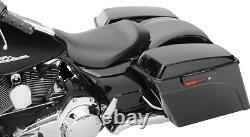 Saddlemen S3 Slammed Low Profile Gel Core Solo Seat Driver 08-20 Harley Touring